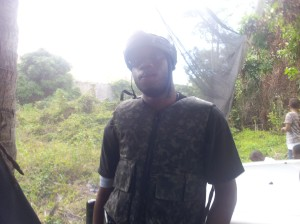Wayne March. My right hand man. My comrade. Real jamaican bad man.