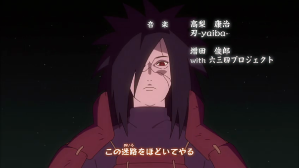 Who is this I see! Is this Madara! The baddest ninja to ever lived!!