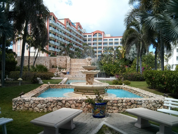 Sonesta Maho Beach Resort. Beautiful place for gaming!