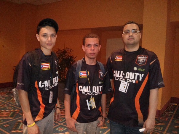The team that knocked us out. Pro MLG Team from Puerto Rico