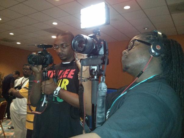 Caribbean Game Zone, RepVI and Carib Gamer hard at work
