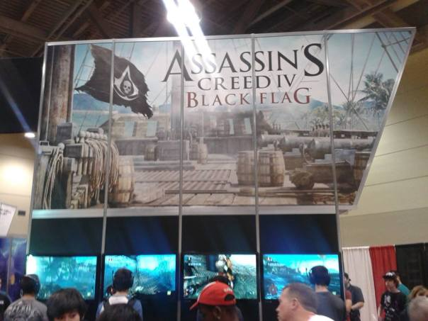 Getting a hands on experience with the epic game from Ubisoft Assassin Creed 4 Black Flag.