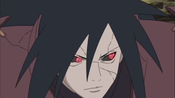 Madara eyes just darting back and forth anticipating everyones moves. Talk about a Boss. He is the Boss....for now lol