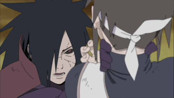 """Do you want to dance?"" Madara I didn't know you was into that...That explains the Diva complex."