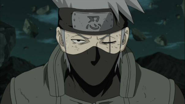 Poor Kakashi. All hung up on the past.