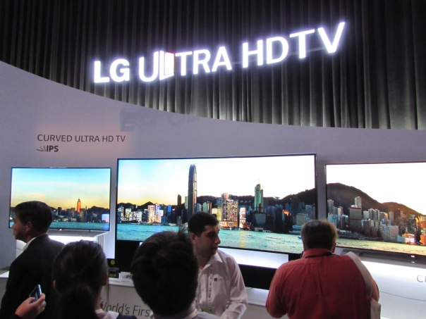 LG wha ya say....ULTRA HD. Ok leh we go!!