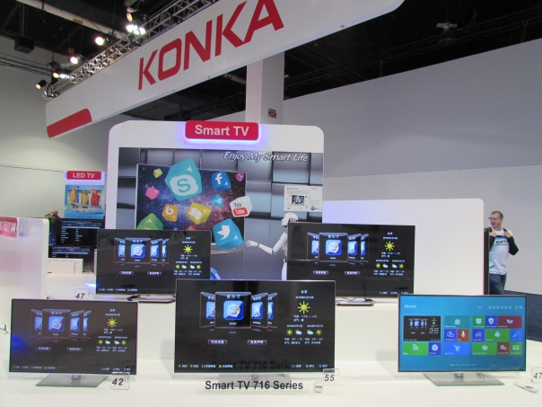 Konka, never heard of ya but I like your smart TV's!