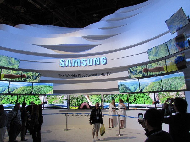 Samsung booths always go all out!