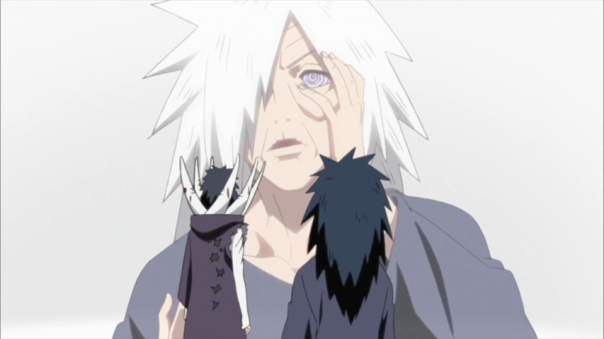Madara: In this slide I am old with the Rinnegan... Obito: Dude....your wrinkles are in HD Madara: Sigh...