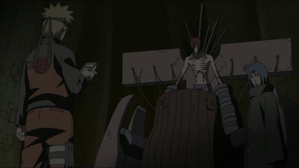 Checking back episode 174. Naruto speaks to Nagato.