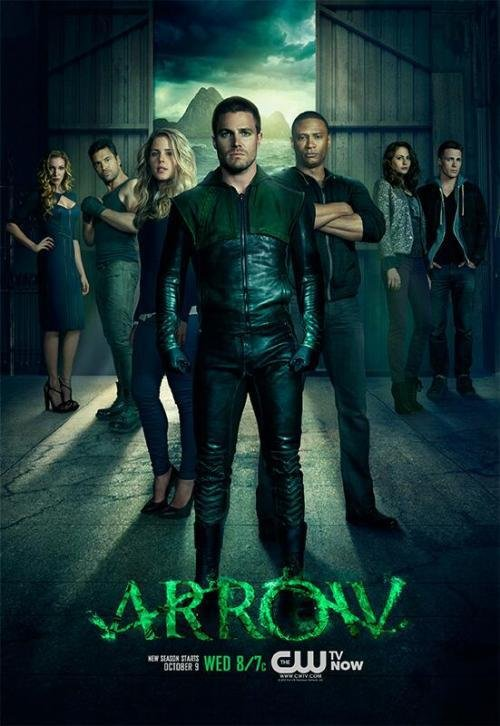 The Arrow is that show that started slow... and still going slow. It has a few cool plot points but....still slowly getting there.