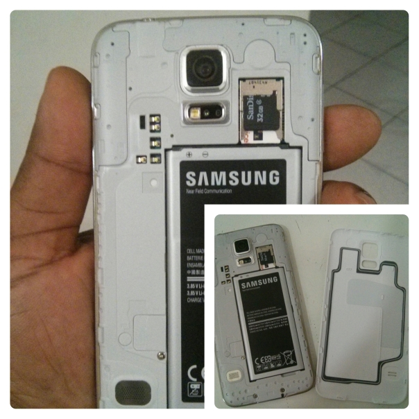 Removable Battery, Expandable Memory, Waterproof Back. Yep we good to go!