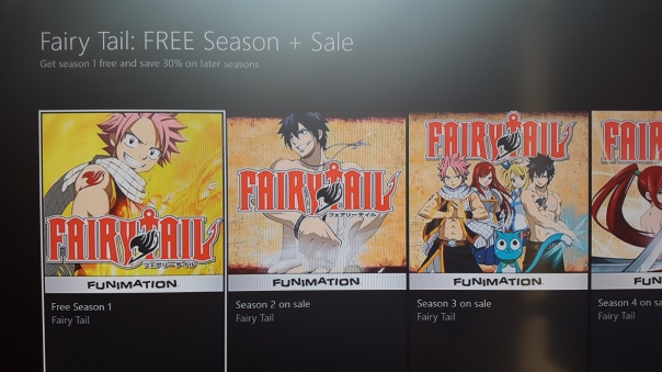 Watch the first season of Fairy Tails for FREE! on Xbox One