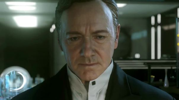 Call of Duty going hard on the Paint! Kevin Spacey...he won like stuff and could act and stuff!