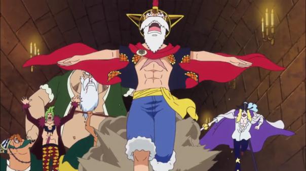 Run Luffy!!!