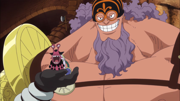 Laugh now Blackbeard. Luffy will beat you..not right now but soon...