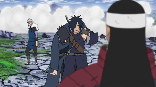 Izuna struck down by Tobirama...Madara's brother...