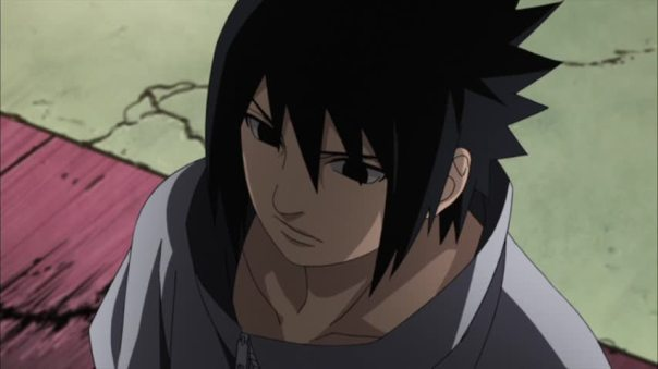 Sasuke thinking back...