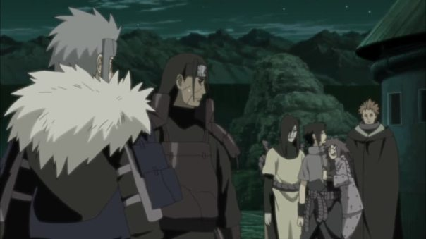 Hashirama: Who is that girl up on Sasuke? Tobirama: Oh she must be one of Sasuke Thots. You know how dem Uzumaki clan does move.