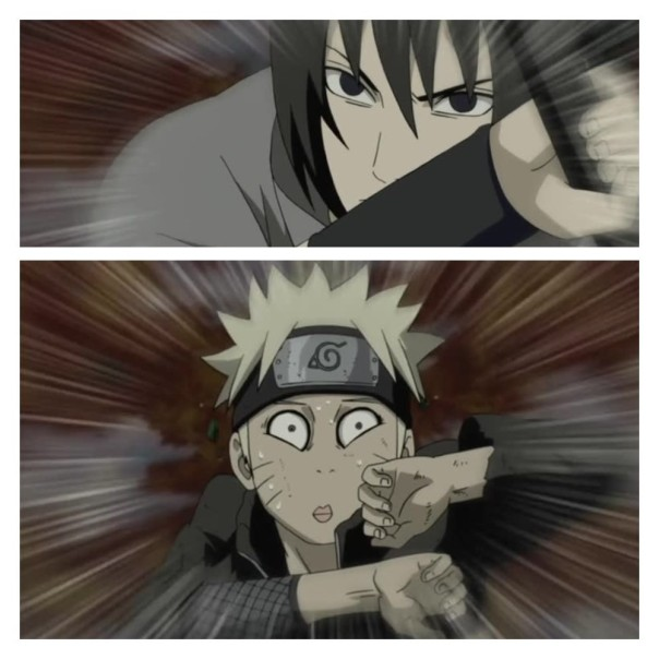Check Naruto buddy... He done see Sakura is a butch...stick to Hinata my boy!