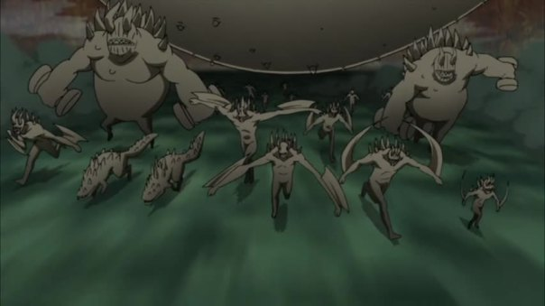 Ten Tails got clones of his own! LET THE WAR BEGIN...again.....