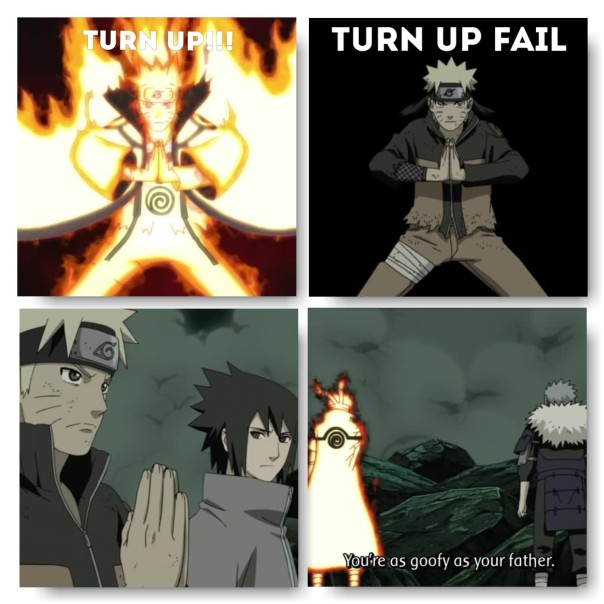 LOL I tell ya Naruto like ting.