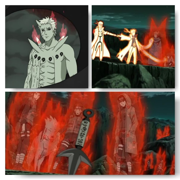 THAT'S RIGHT! HE TELEPORTED EVERYONE!!!! Obito feel like a botty!