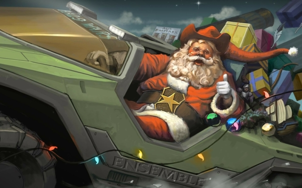 halo microsoft cowboys christmas santa claus halo wars age of empires 1920x1200 wallpaper_www.wallpaperhi.com_32